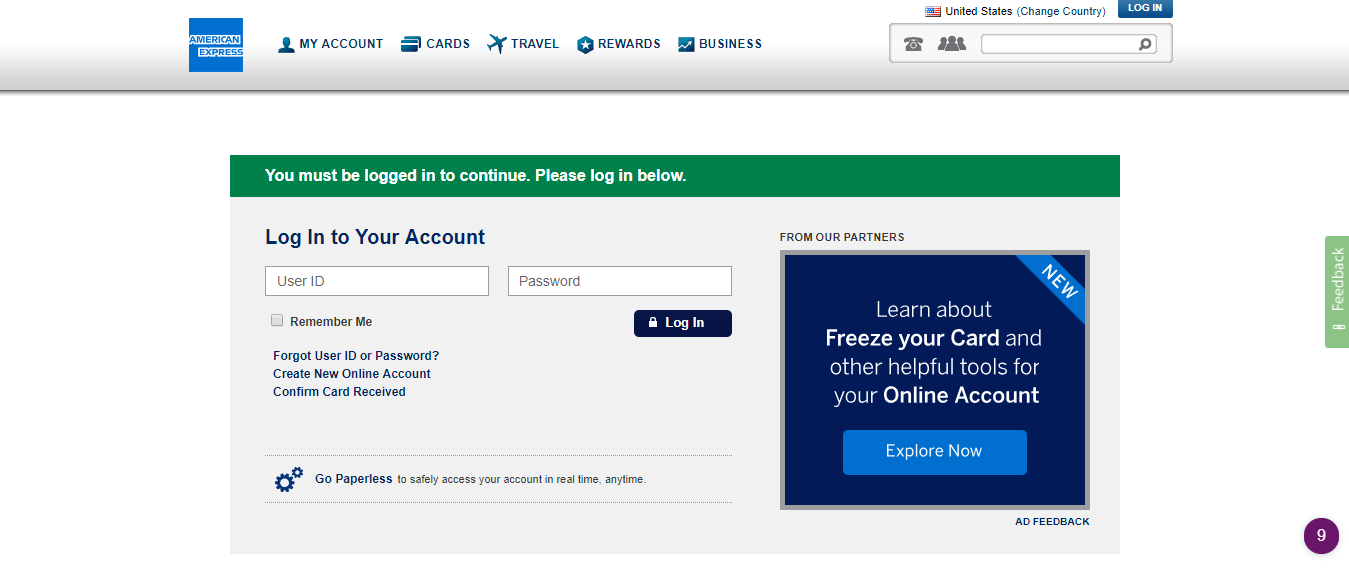 American Express Select and Pay program