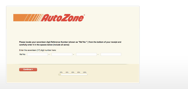 Auto Zone Survey