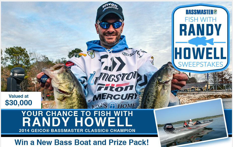 Fish Randy Howell Sweepstakes