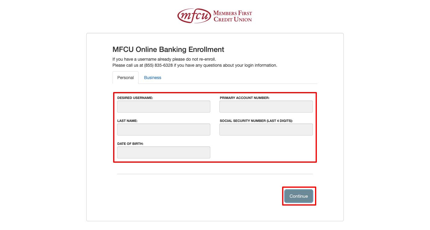 How to Enroll in MFCU Visa Card
