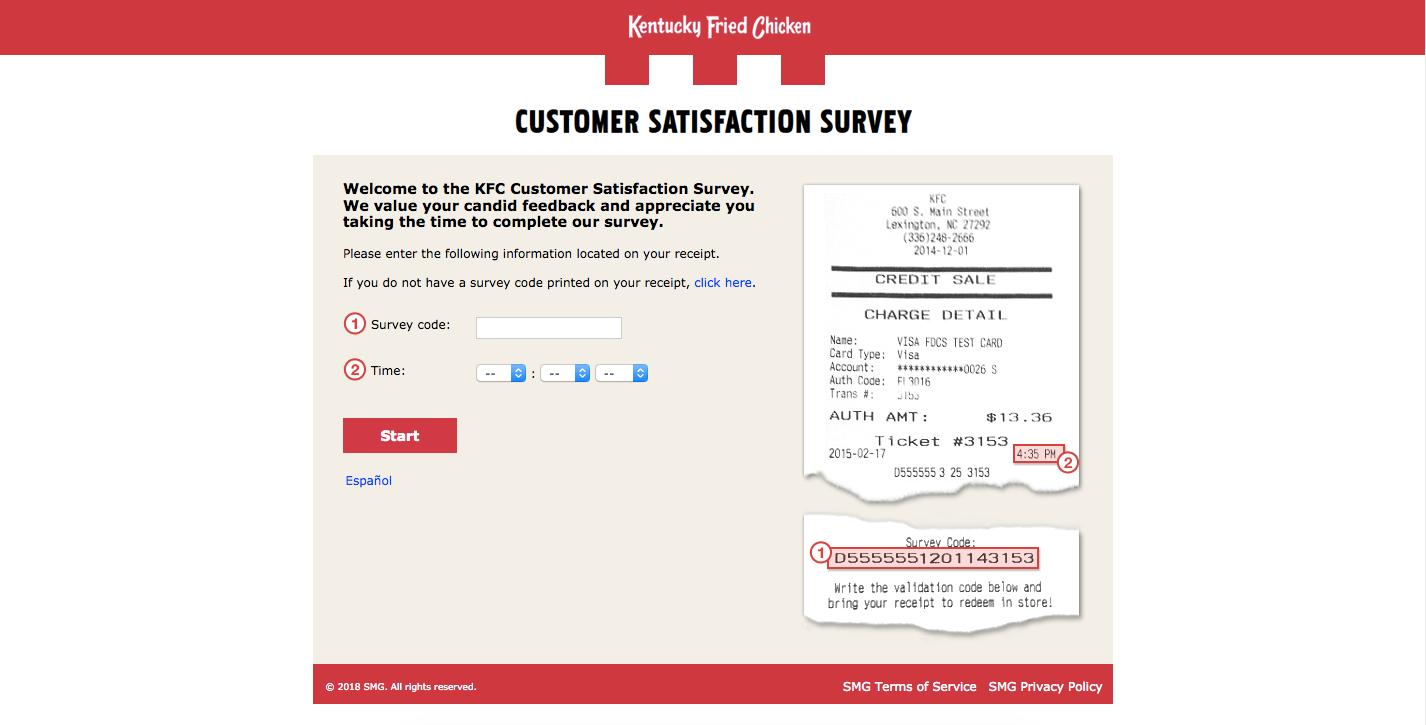 KFC Customer Survey