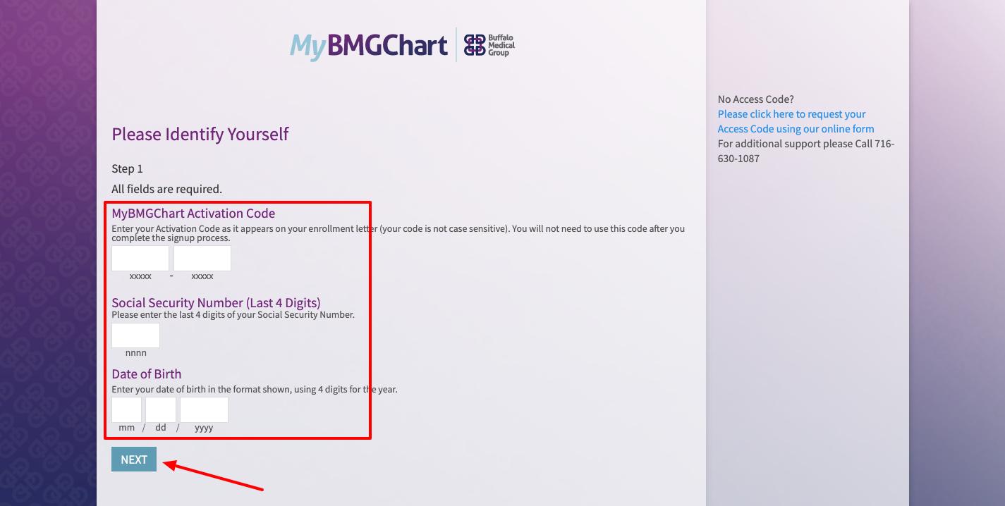 MyBMGChart register