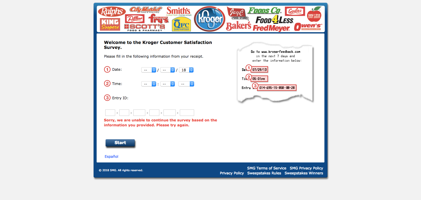 kroger customer survey