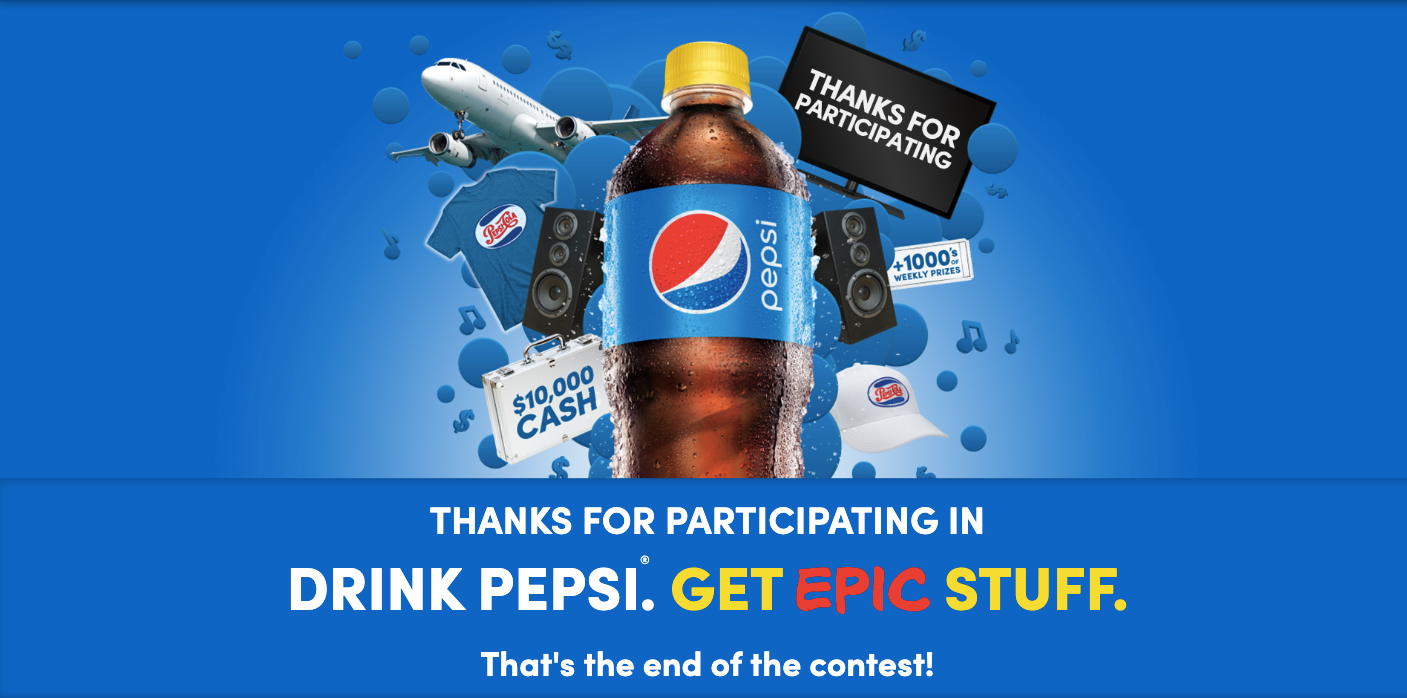 Pepsi Stuff Giveaway