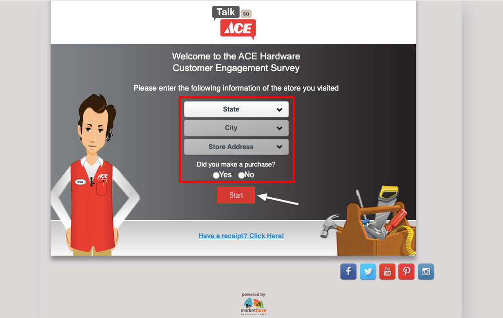 Talk To Ace Survey