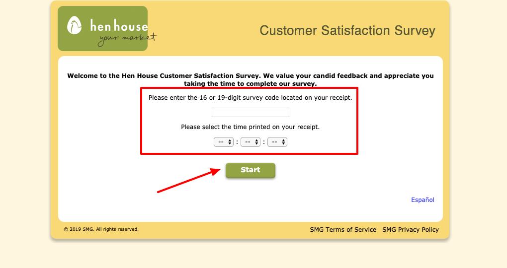Hen House Survey