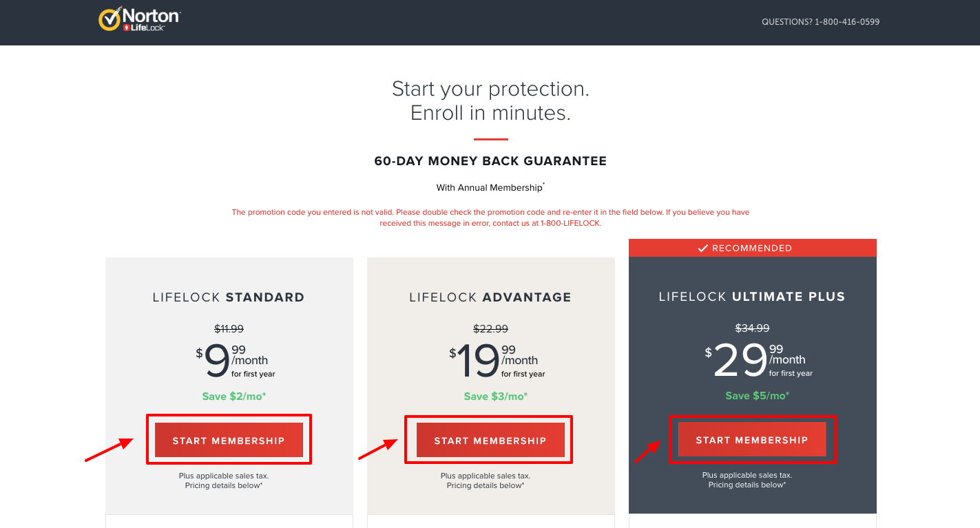 lifelock 60 day trial