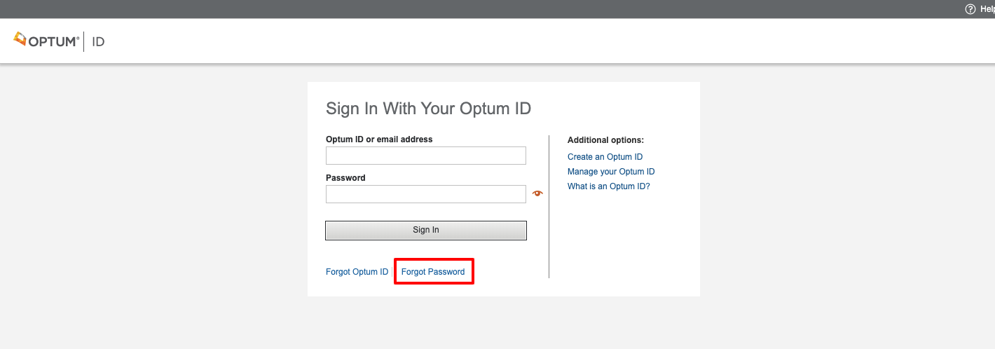 optumhealth payment services online login