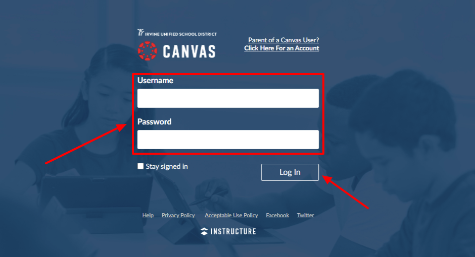 Canvas IUSD Login