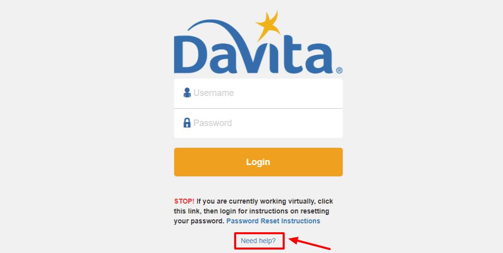 DaVita employee Login