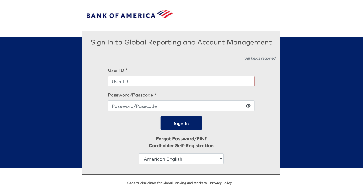 Global Reporting and Account Management